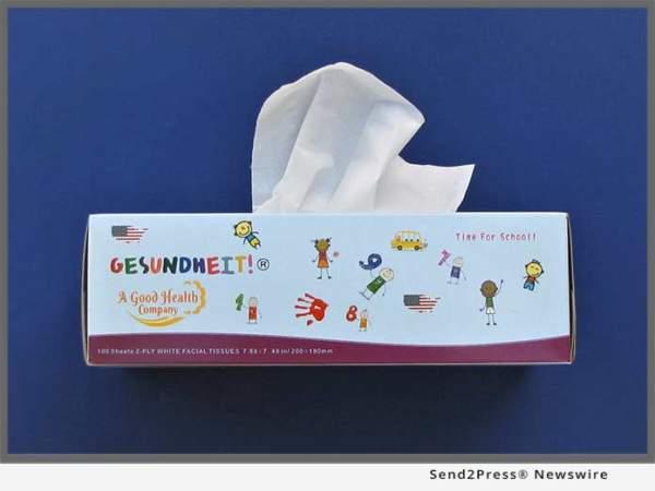 Gesundheit! Facial Tissue
