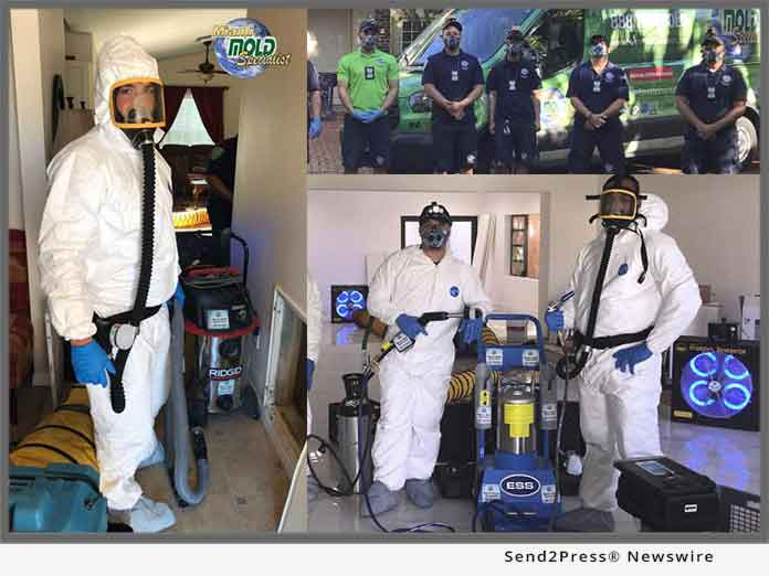Miami Mold Specialist Acquires High-tech Personal Protection and Anti Cross Contamination Equipment