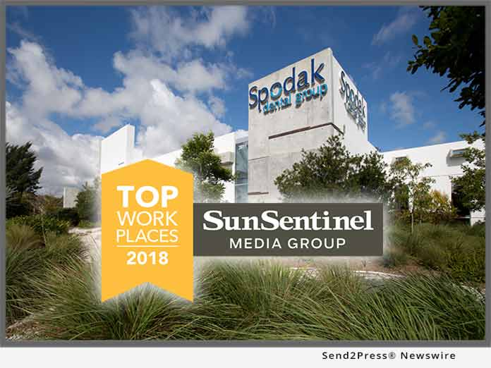 Florida 2018 Top Workplaces Award
