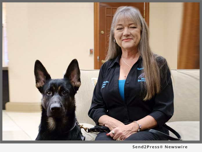 Carol Borden, Founder of Guardian Angels Medical Service Dogs