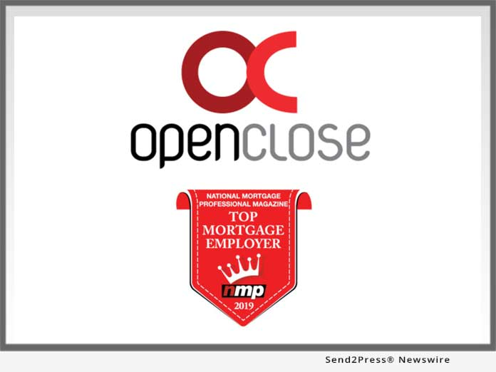 OpenClose a Top Mortgage Employer