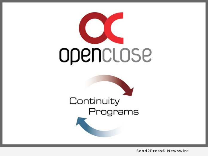 OpenClose and Continuity Programs