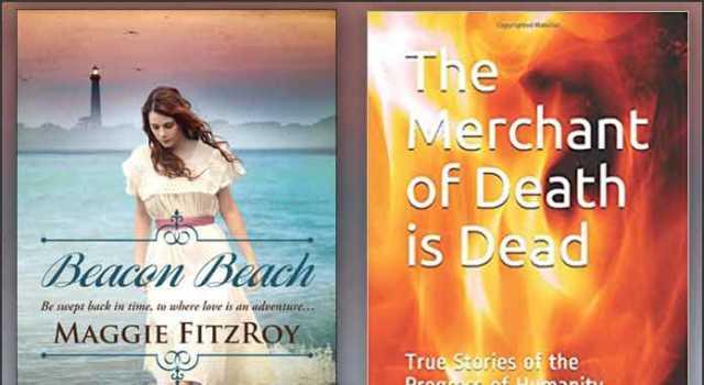 """Books: Beacon Beach, and Merchant of Death"