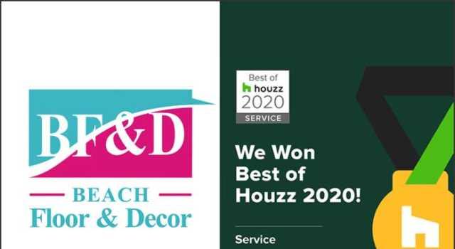Beach Floor & Decor Awarded Best Of Houzz 2020