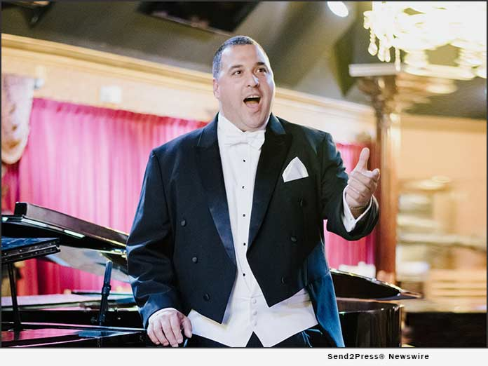 Opera singer Mateo Blanco - Photo by Maddy Ouellette