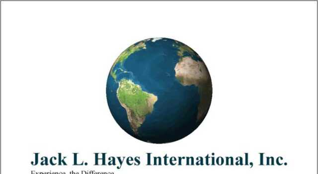 Jack L Hayes International