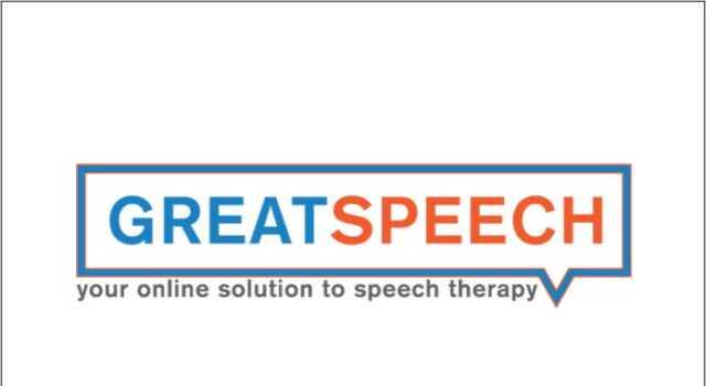 GreatSpeech online speech therapy