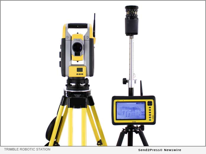 the Trimble Robotic Total Station