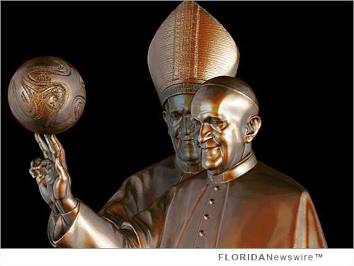 Daniel Edwards depicts Pope Francis