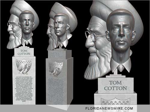 Treason Memorial: The Portrait of Tom Cotton