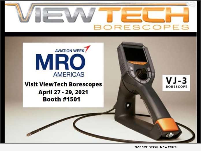 ViewTech Borescopes Exhibiting at MRO Americas