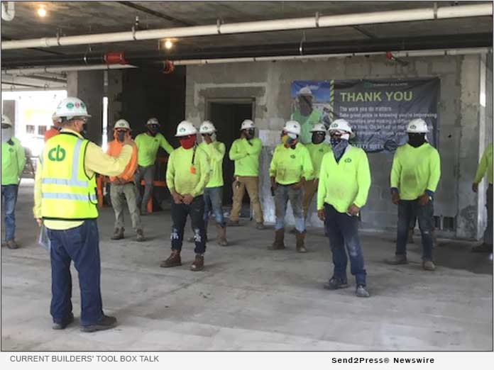 Current Builders Celebrates Construction Safety Week