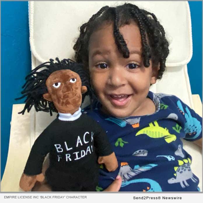 Black Friday plush toy
