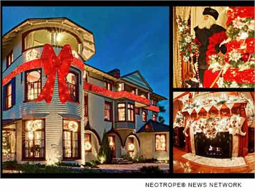 Stetson Mansion Christmas