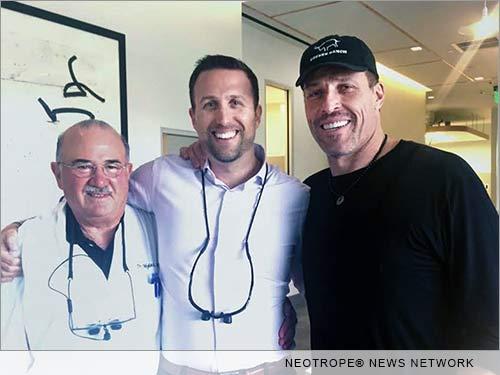 Spodak Dental and Tony Robbins