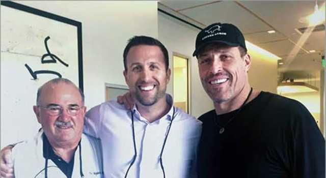 Tony Robbins and Spodak Dental