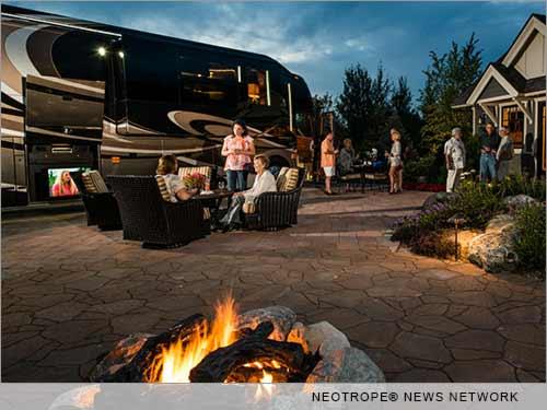 Luxury RV camping