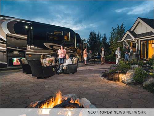 Renting a luxury RV