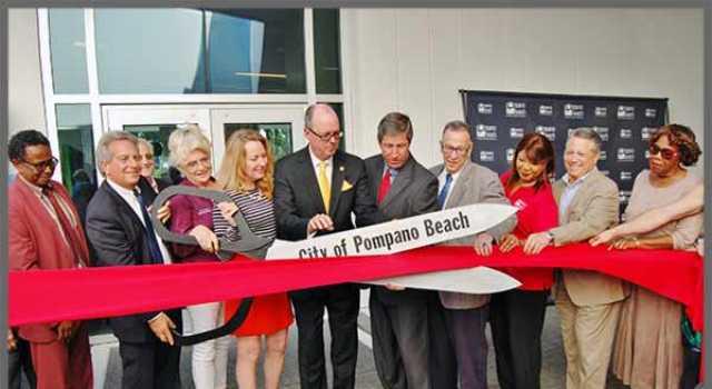 Pompano Beach Cultural Center Open