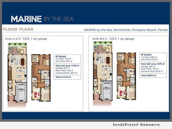 Marine by the Sea townhomes