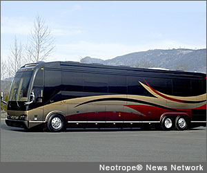 luxury RV rental from Allstar Coaches