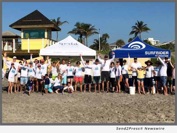 Spodak Dental and Surfrider beach cleanup 2018